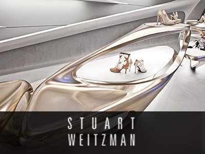 STUART WEITZMAN – Flagship Milano, in collaborazione con ZAHA HADID architects