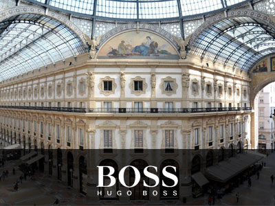 News – HUGO BOSS in Galleria Vittorio Emanuele II